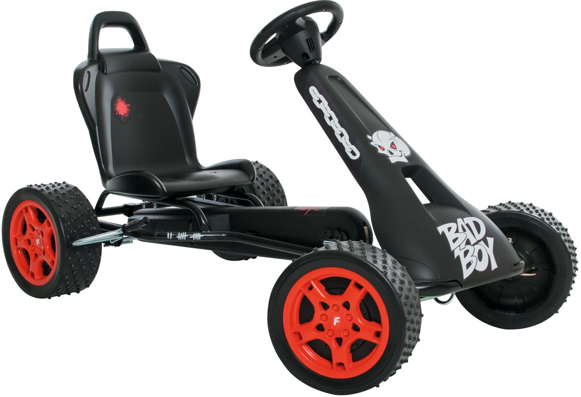 FERBEDO Ferbedo Go-Cart schwarz, »Cross-Racer Bad Boy«