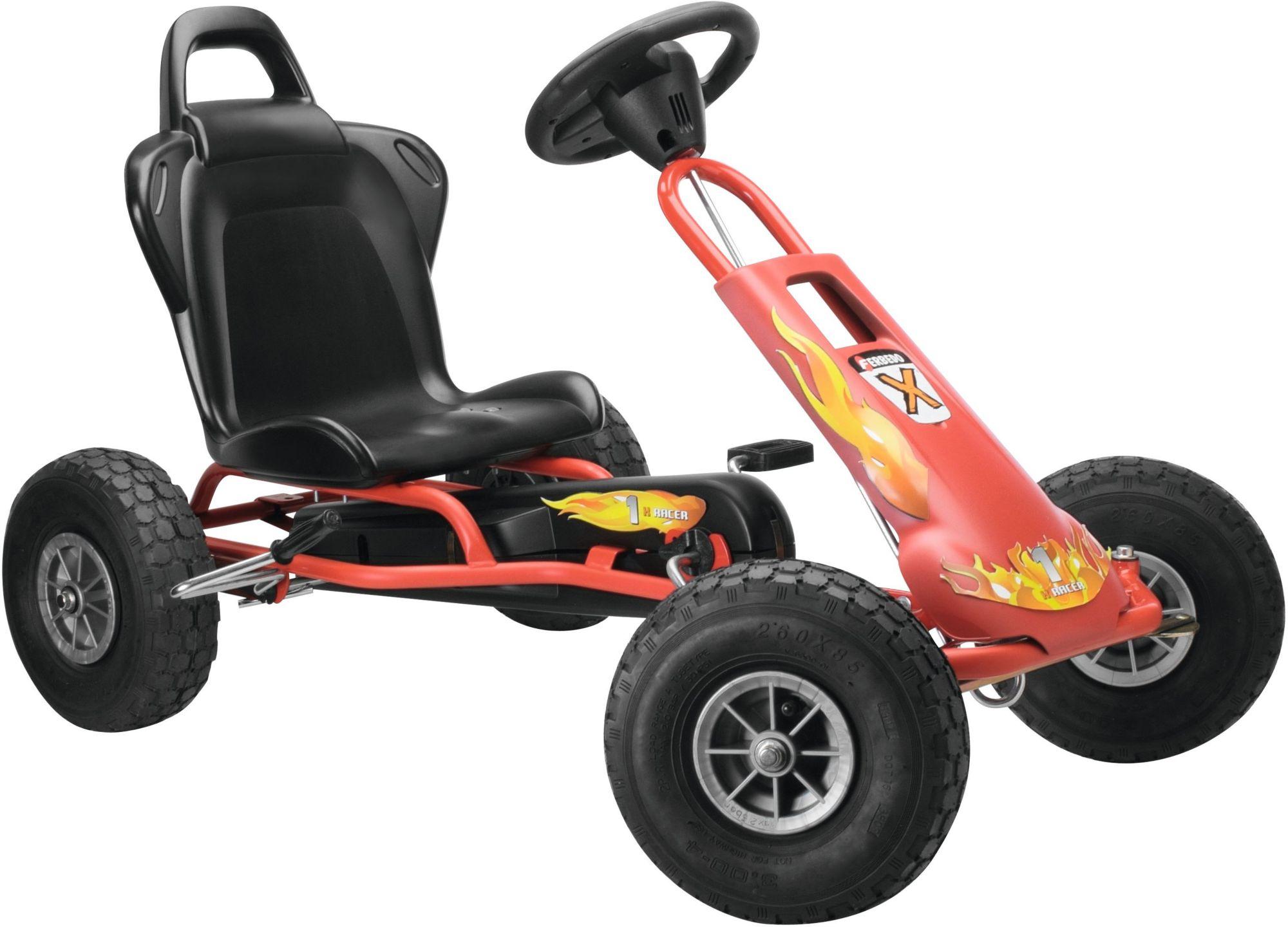 FERBEDO Ferbedo Go-Cart rot, »Air-Runner Fire«
