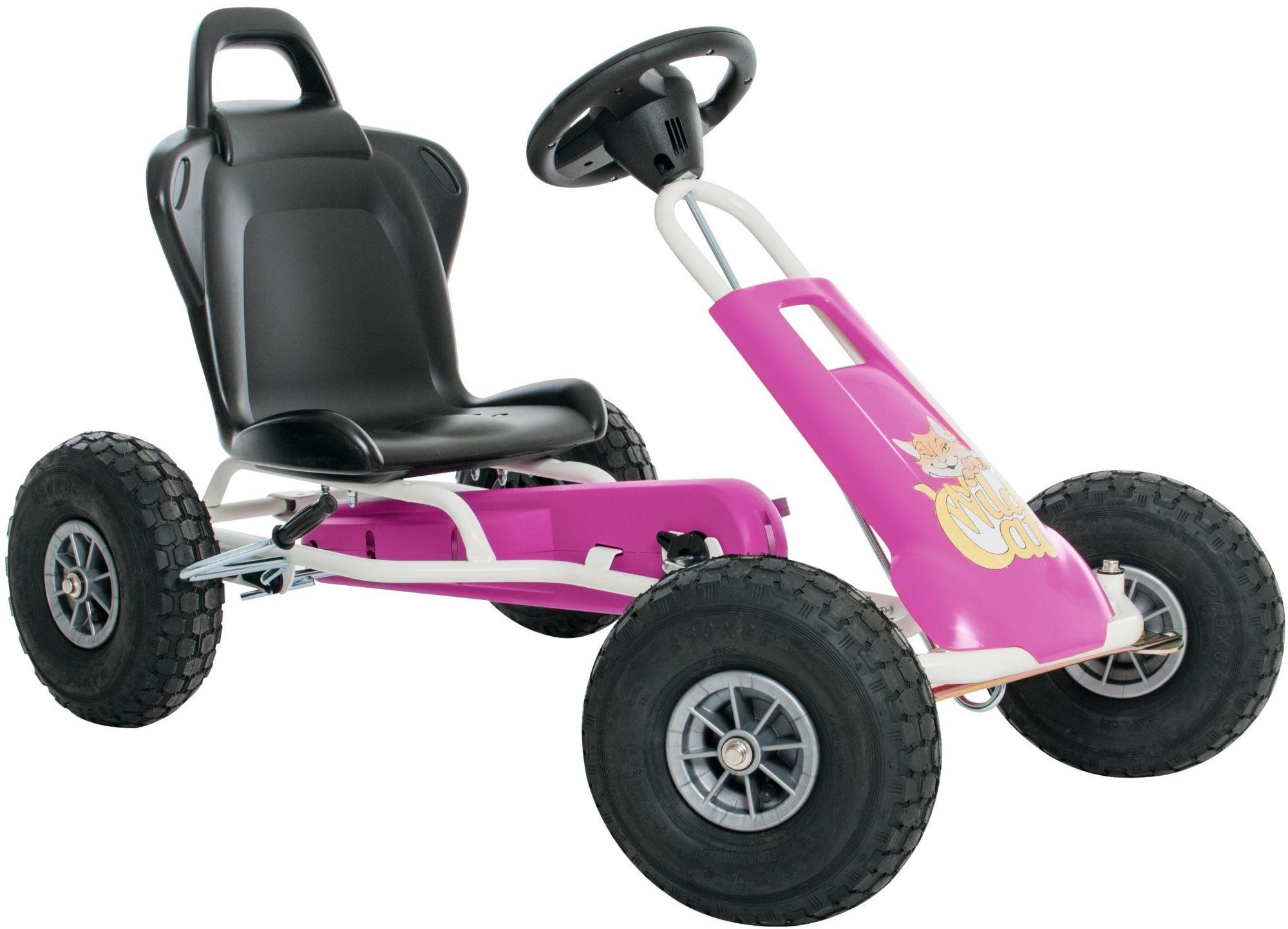 FERBEDO Ferbedo Go-Cart pink, »Air-Runner Wild Cat«