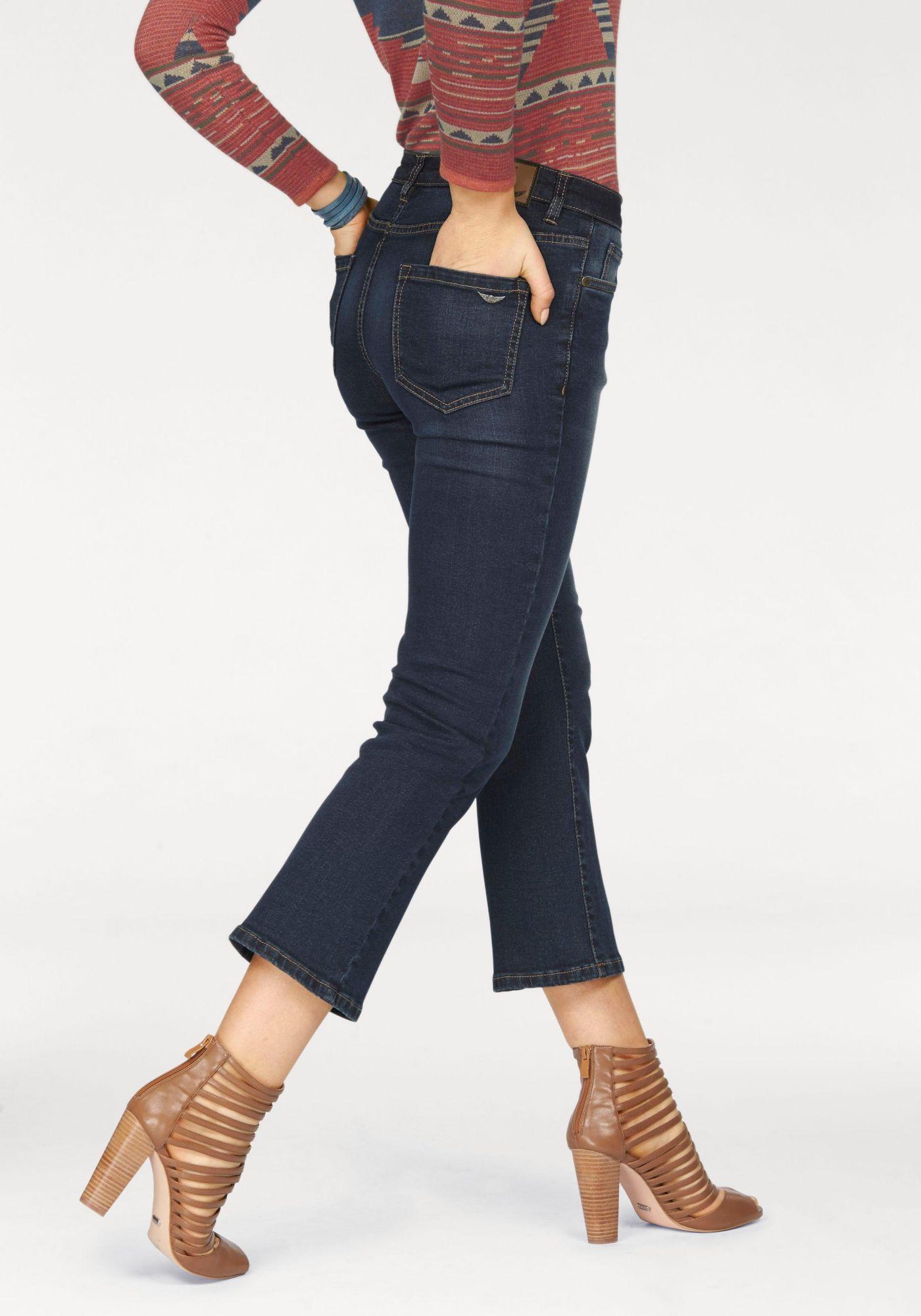 ARIZONA Arizona Bootcut-Jeans »7/8 Kick-Flare«