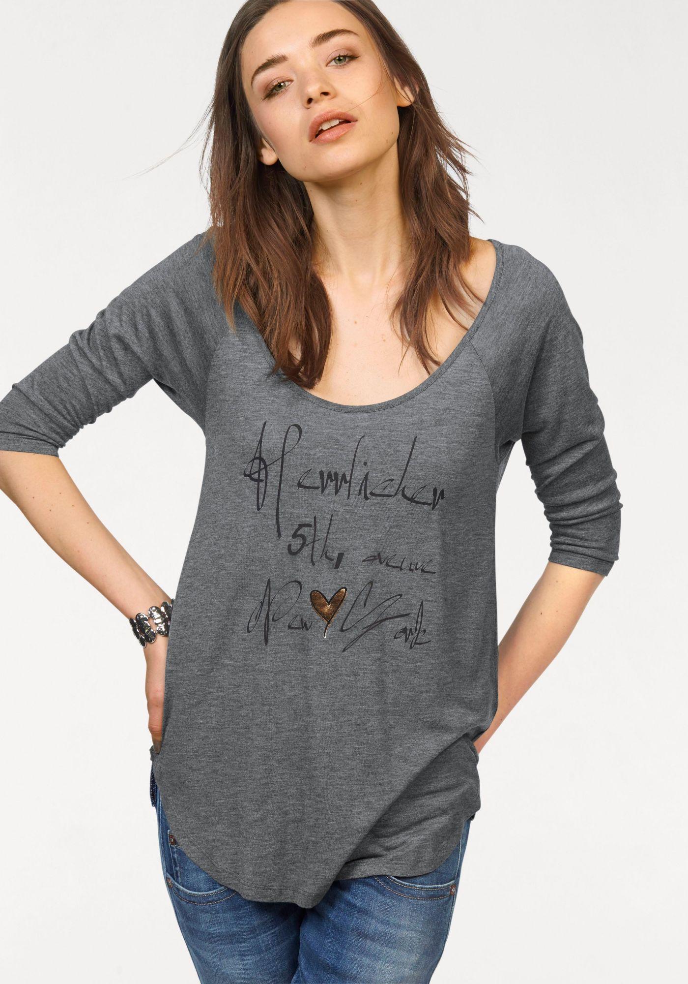 HERRLICHER Herrlicher 3/4-Arm-Shirt »Emilia«