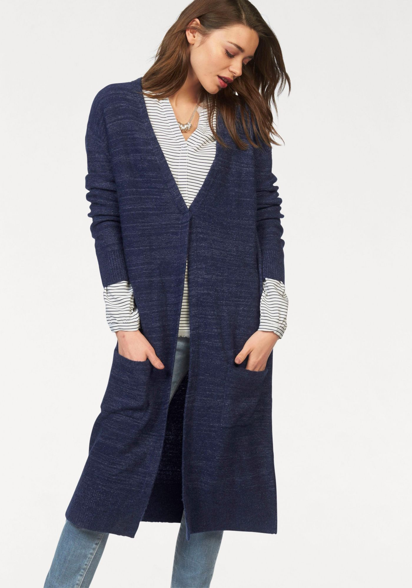HILFIGER DENIM Hilfiger Denim Longstrickjacke