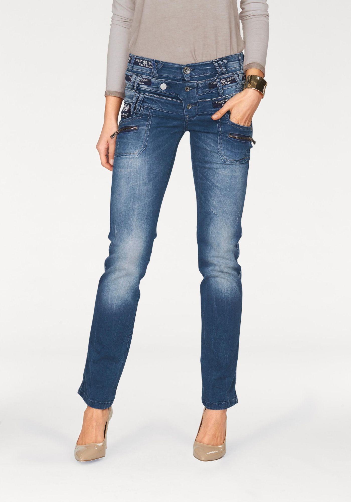 CIPO BAXX Cipo & Baxx Gerade Jeans