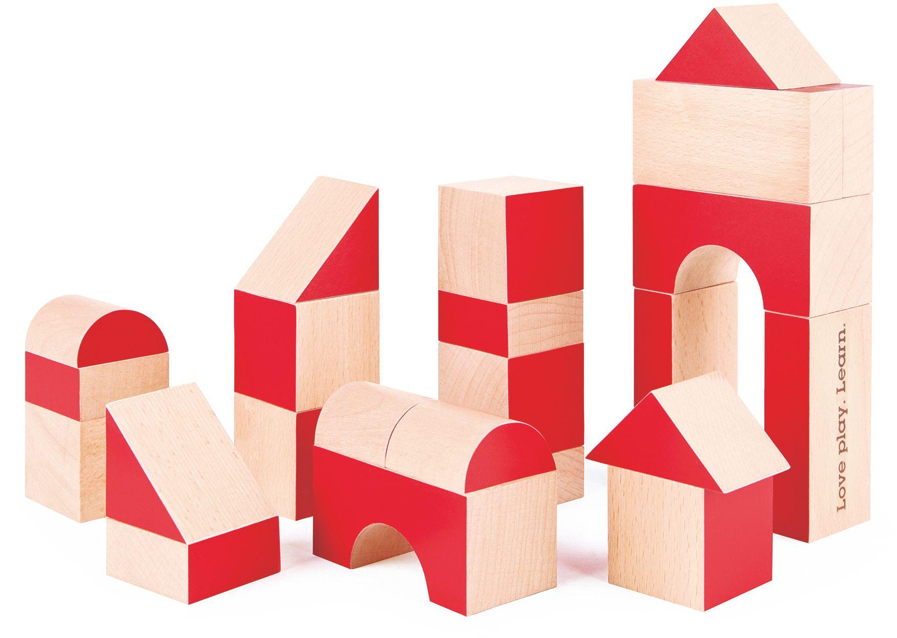 HAPE Hape Bausteine Set aus Holz, »30 Jahre Edition«