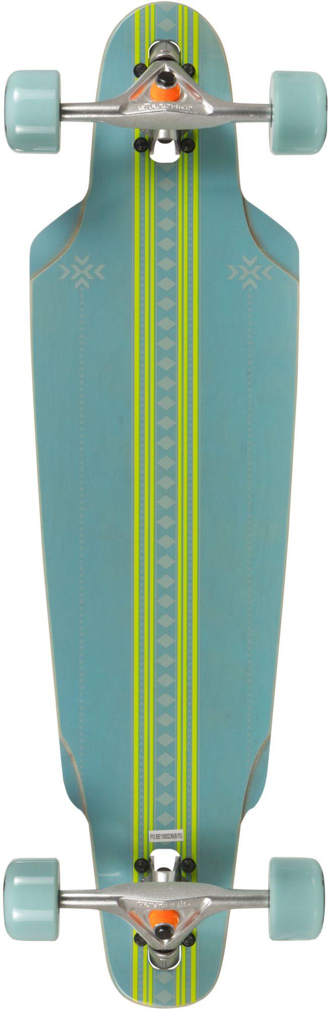 CHOKE Choke Longboard, blau-grün, »The Curl Elite«