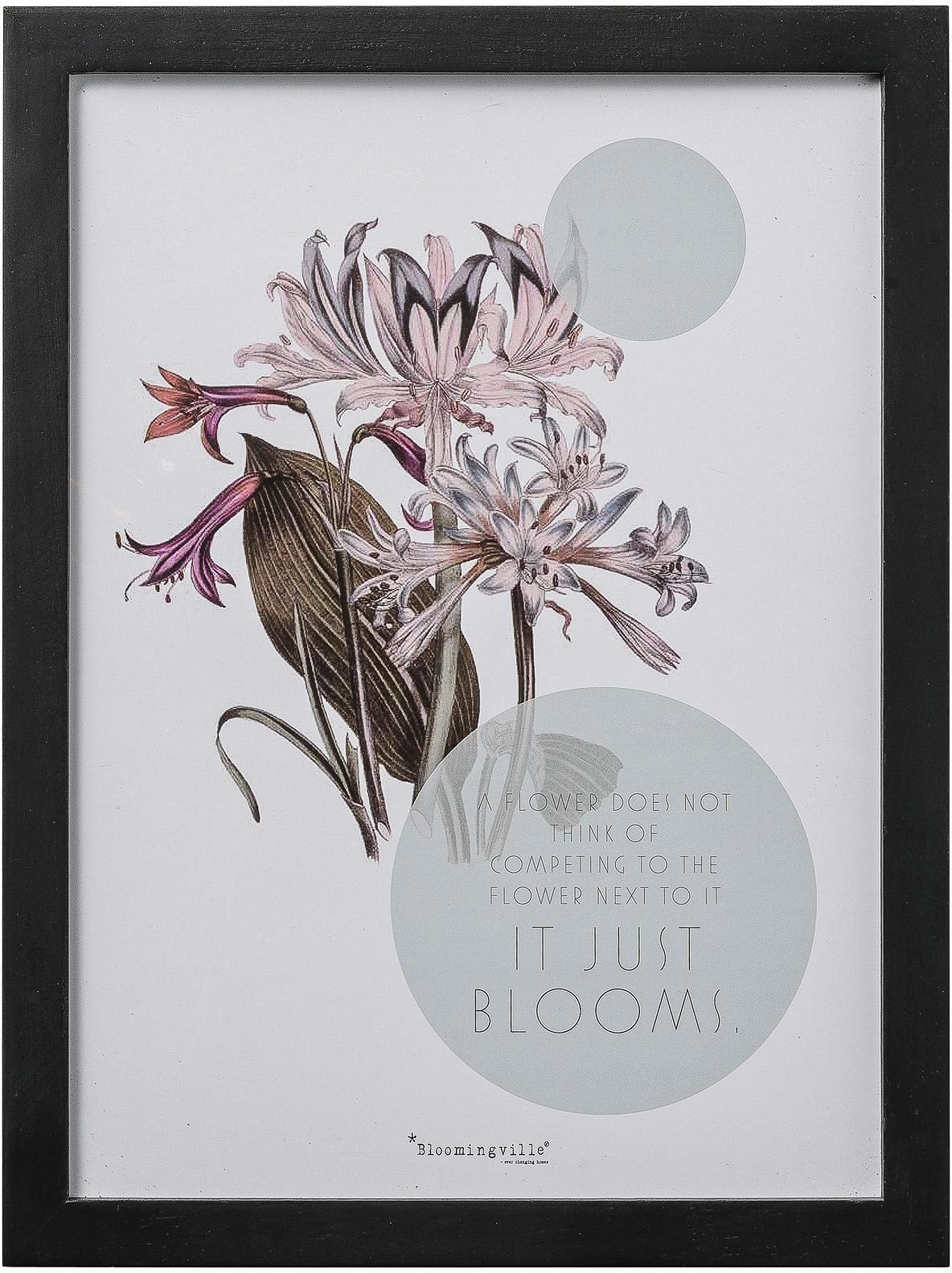 BLOOMINGVILLE AS Bloomingville Bild mit Rahmen