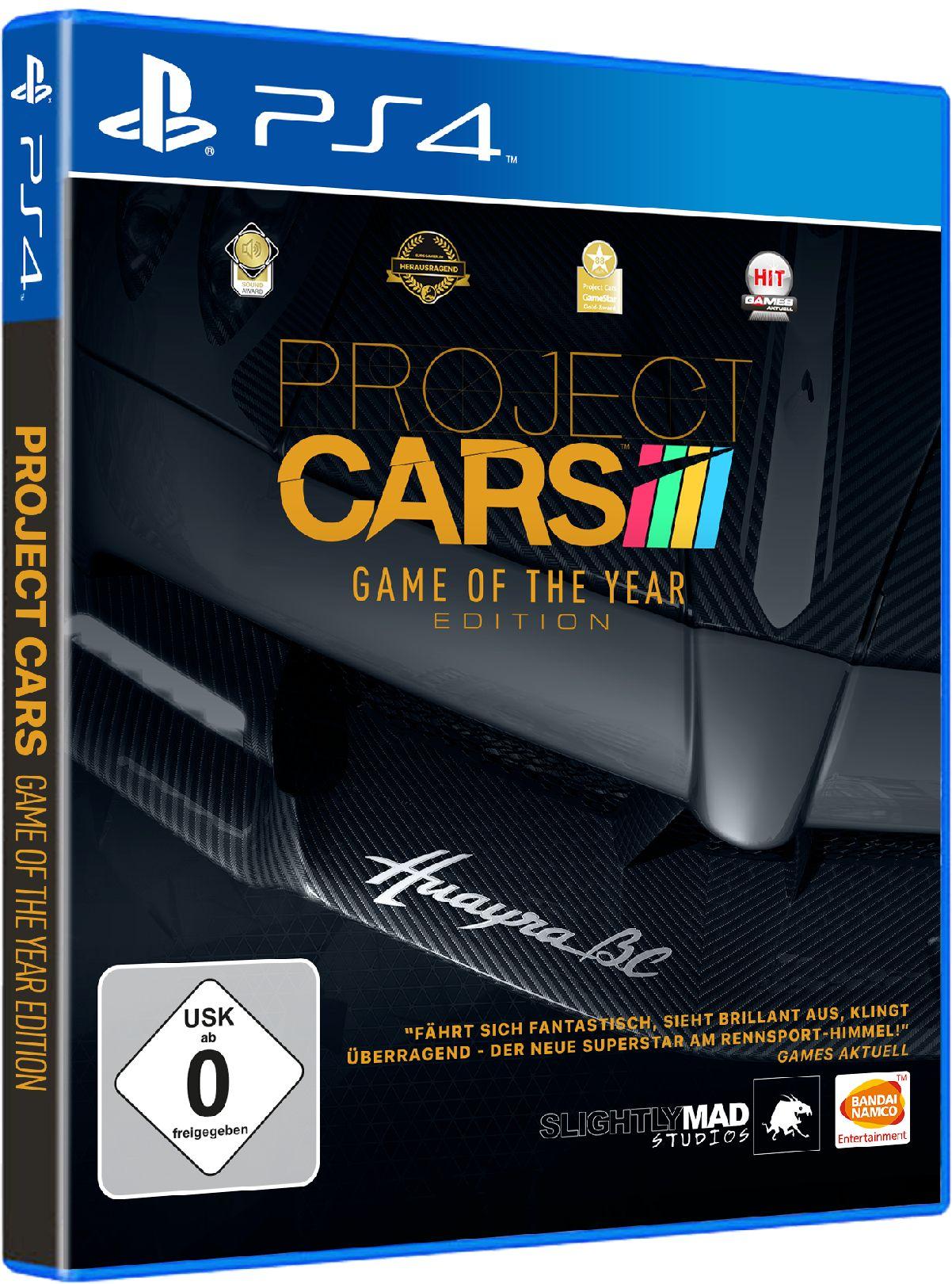 BANDAI NAMCO Bandai Namco Project CARS Game Of The Year Edition »PS4«