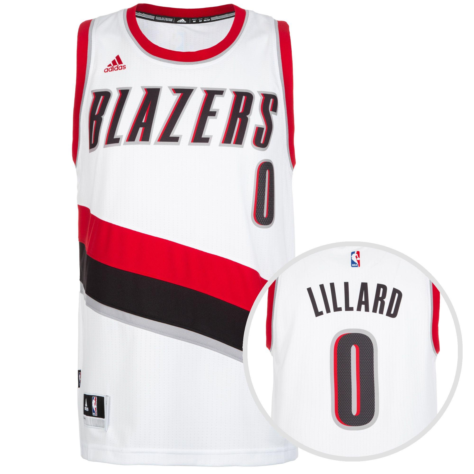 ADIDAS PERFORMANCE adidas Performance Portland Trail Blazers Lillard Swingman Basketballtrikot Herren