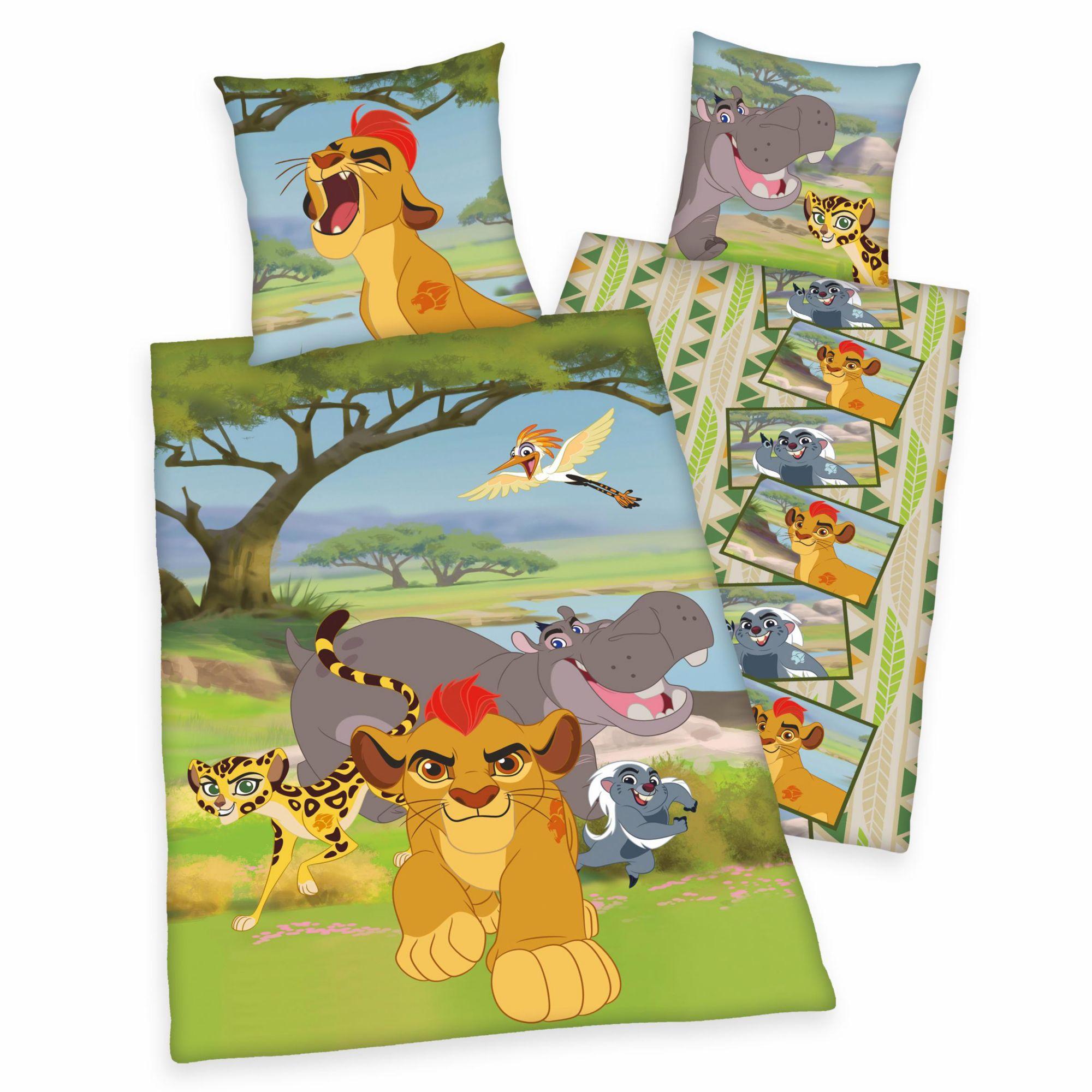 DISNEY Kinderbettwäsche, Disney, »Die Garde der Löwen«