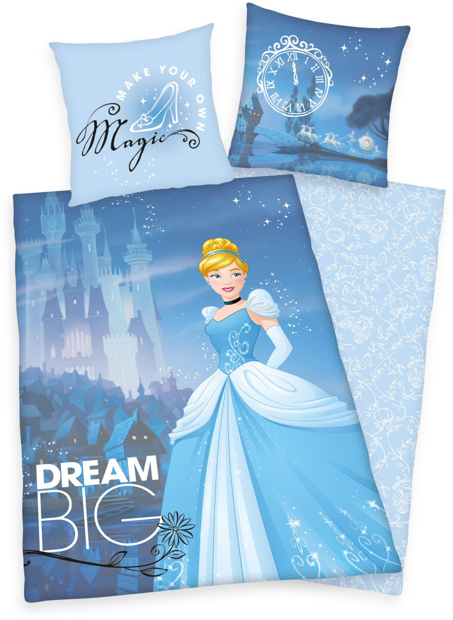 DISNEY Kinderbettwäsche, Disney, »Big Dream Princess«