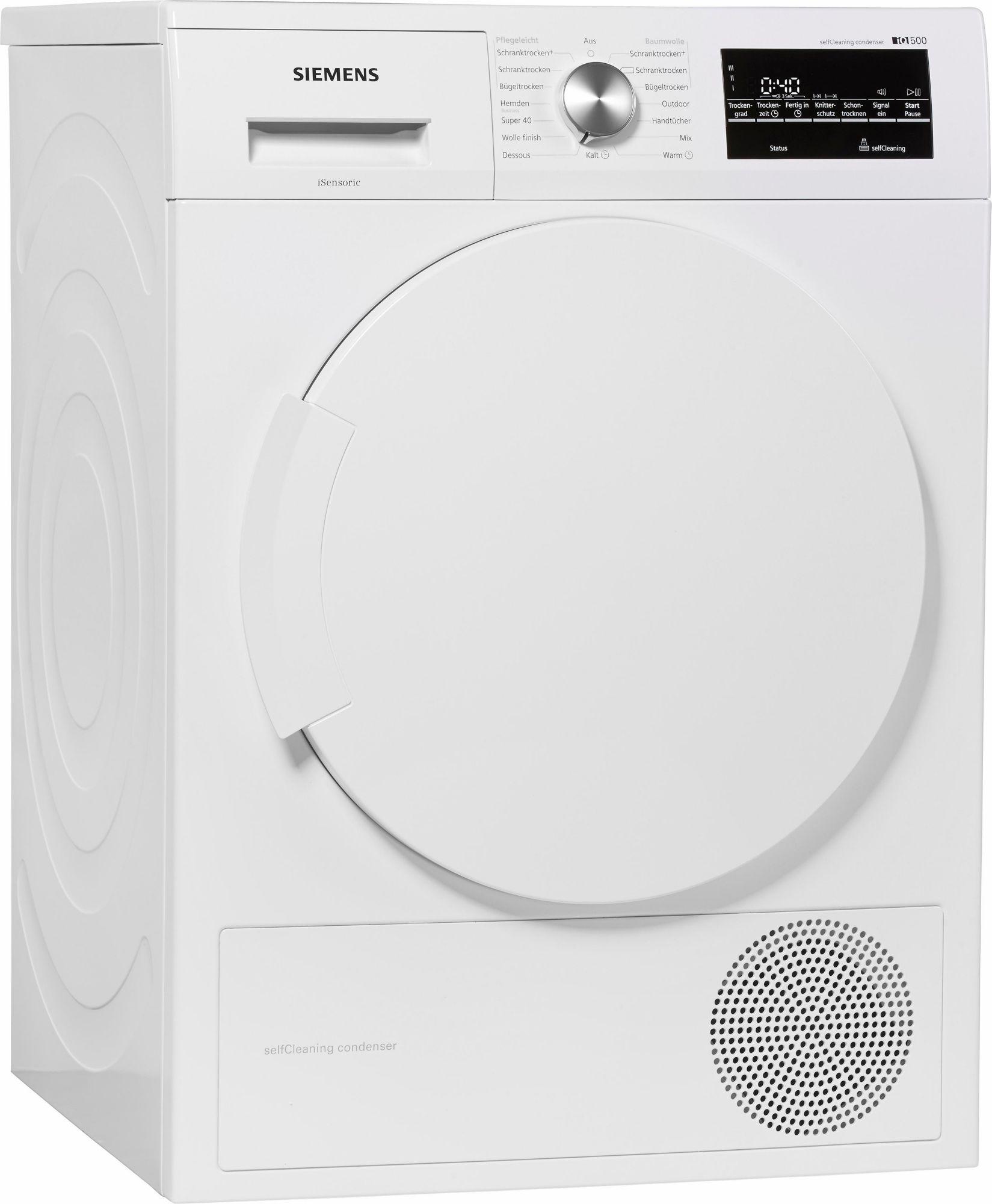 SIEMENS  Trockner iQ500 WT43W460, A++, 7 kg