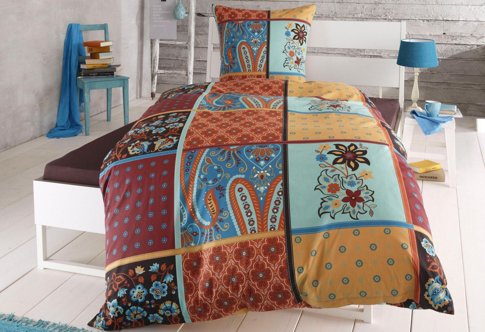CASATEX Bettwäsche, Casatex, »Judy«, im Patchwork-Design