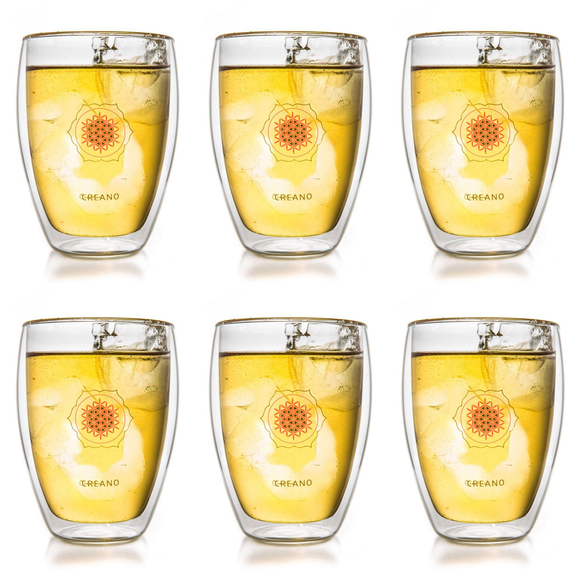 CREANO Creano Thermo-Glas, »Blume des Lebens«