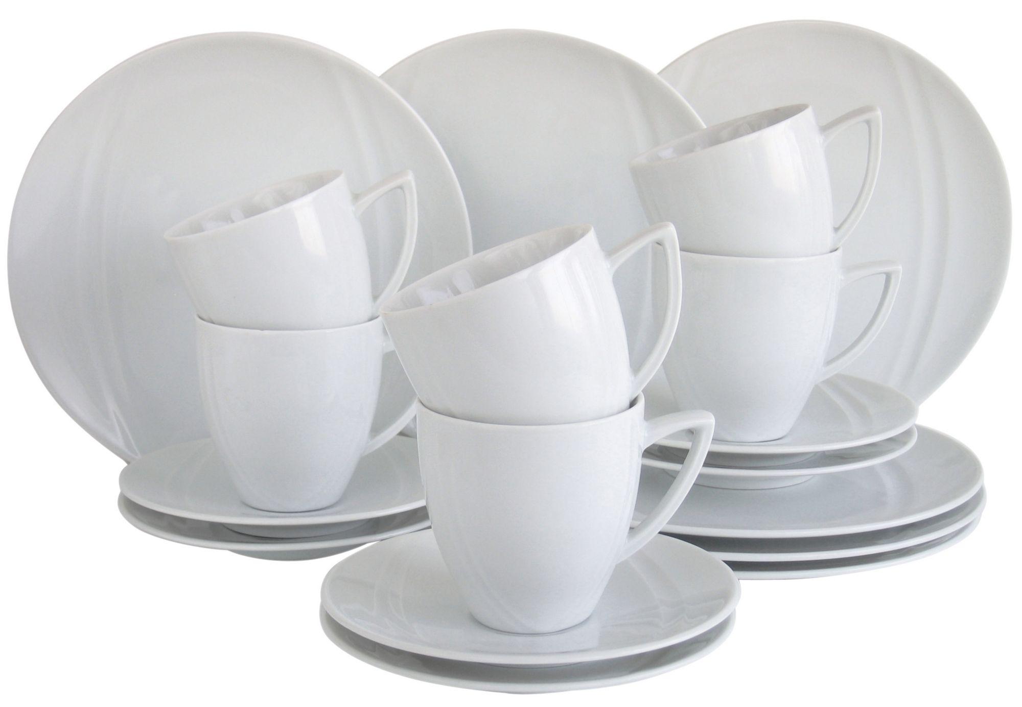 CREATABLE CreaTable Kaffeeservice, Porzellan, 18 Teile, »CARAT«