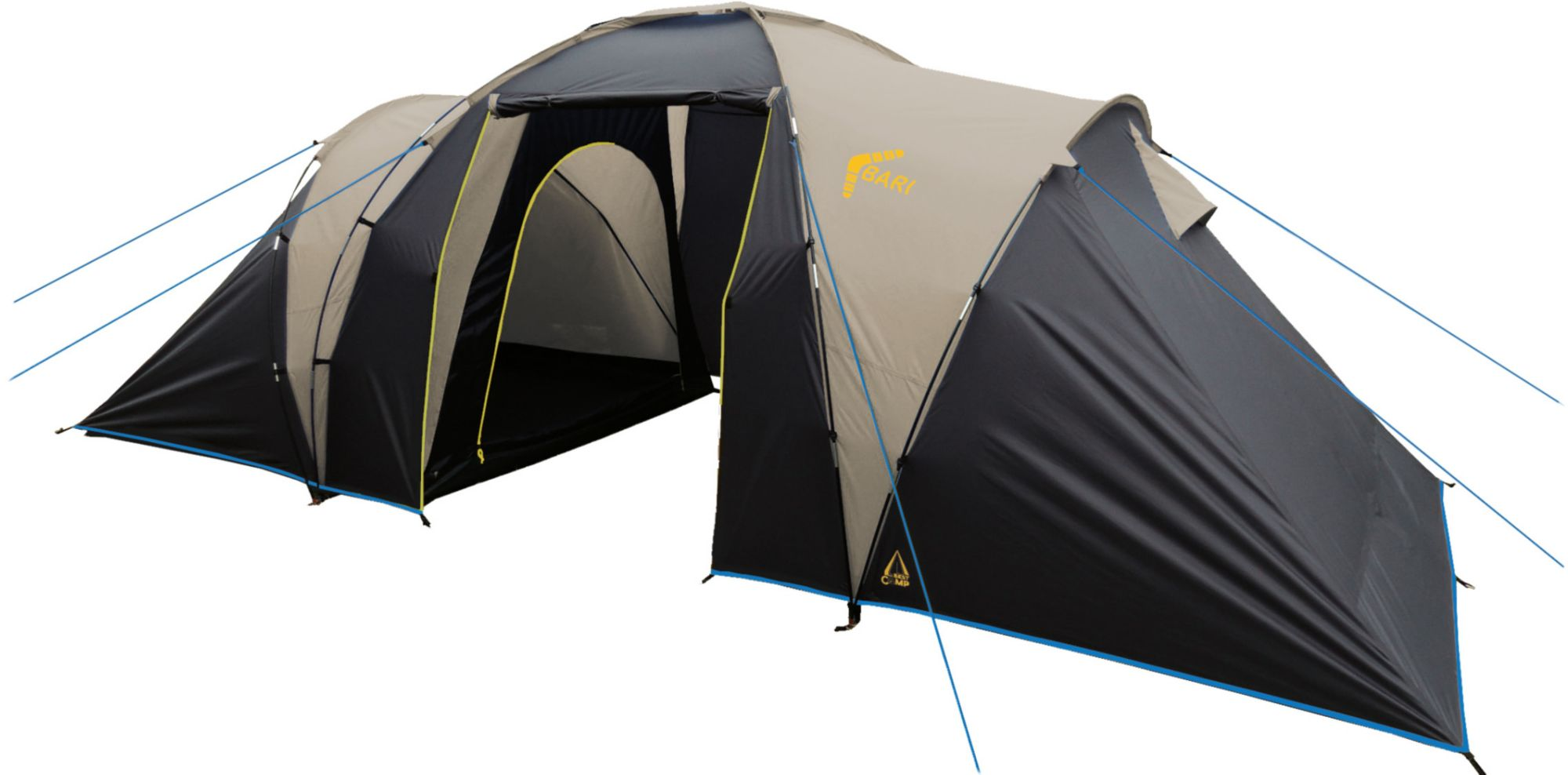 BEST CAMP Best Camp Zelt, 4 Personen, »Bari 4«