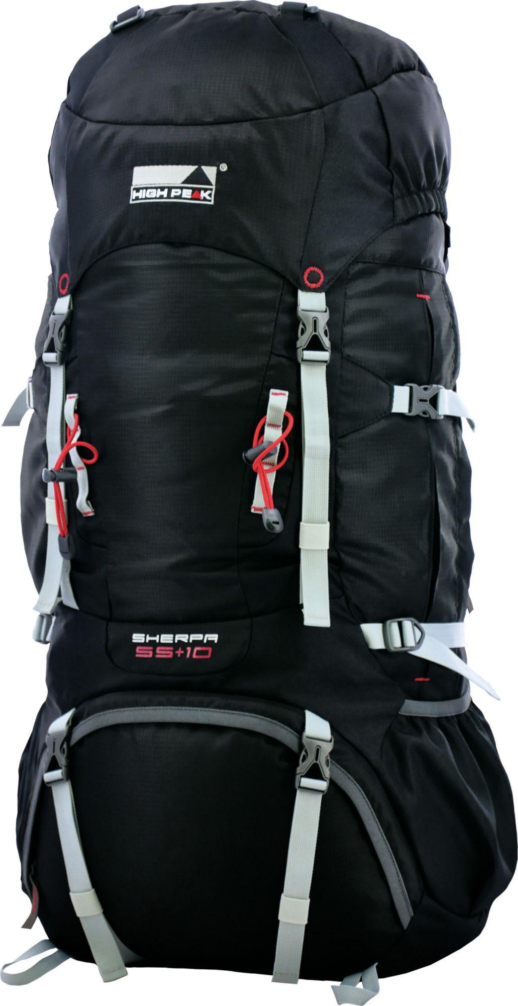 HIGH PEAK Backpack Sherpa 55+10, Rucksack