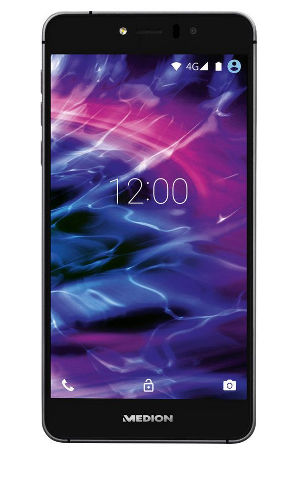 MEDION® 12,7 cm (5') Smartphone MEDION LIFE X5020 (MD 99367) schwarz