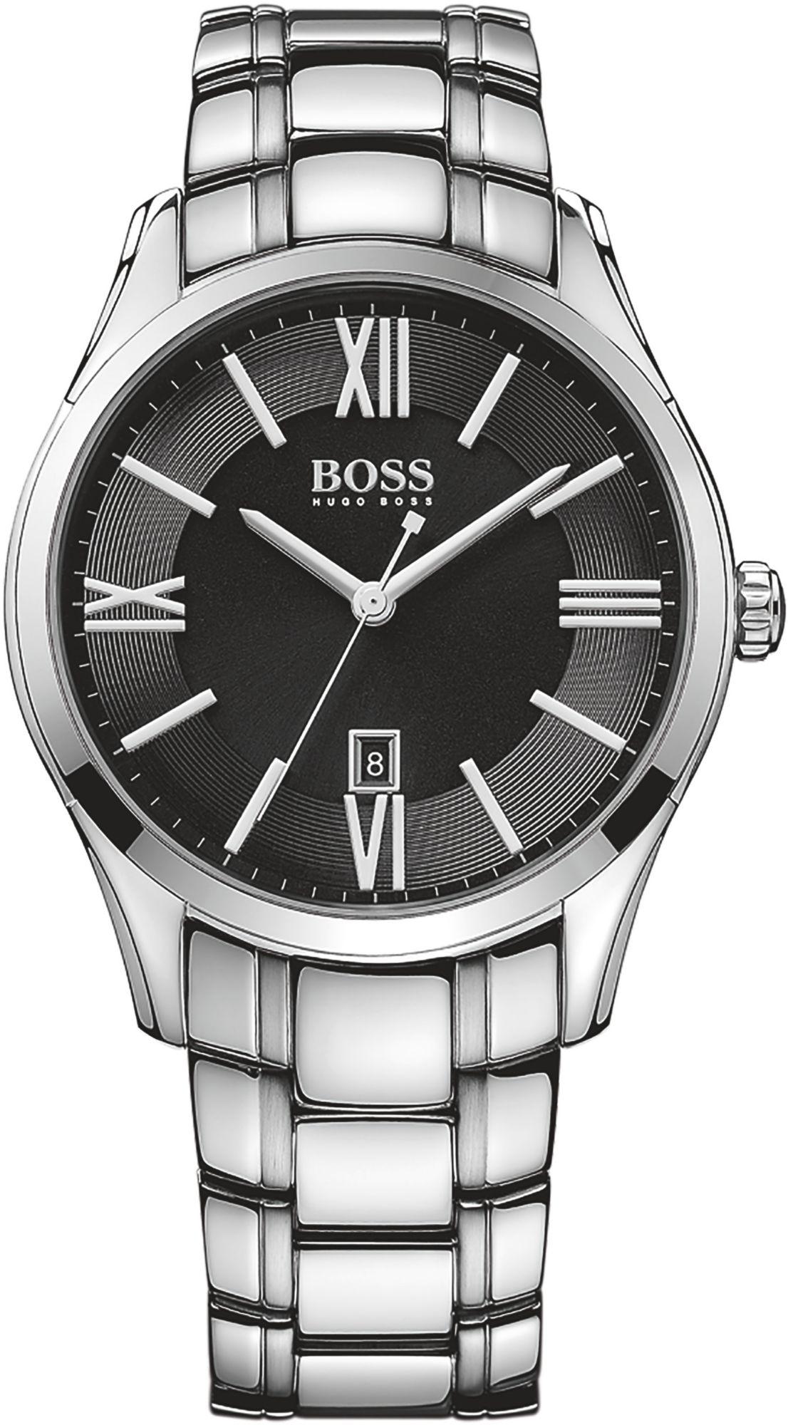 BOSS Boss Quarzuhr »AMBASSADOR ROUND, 1513025«