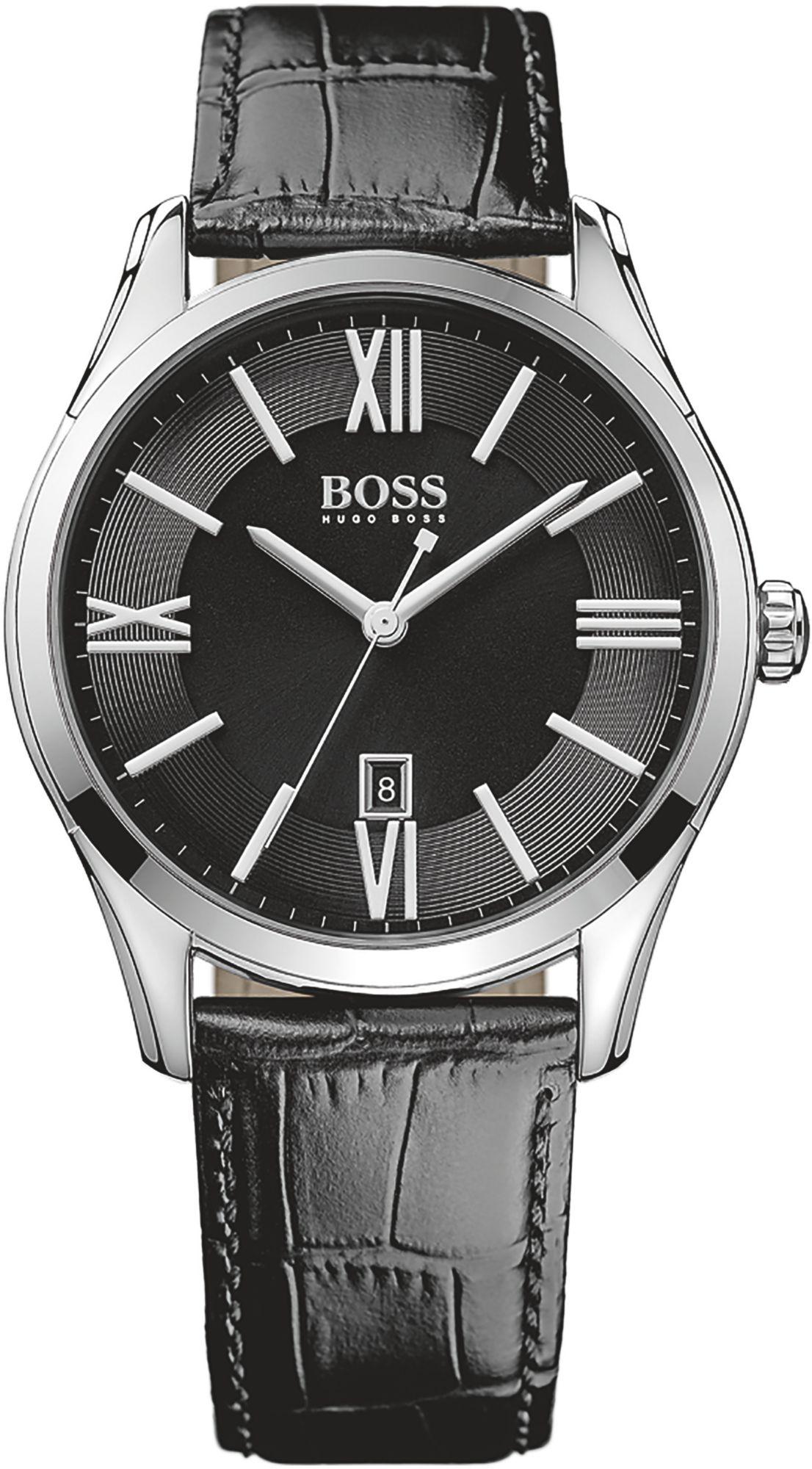 BOSS Boss Quarzuhr »AMBASSADOR ROUND, 1513022«
