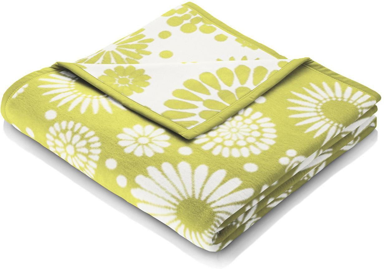 BIEDERLACK Wohndecke, Biederlack, »Flores«, mit floralem Muster