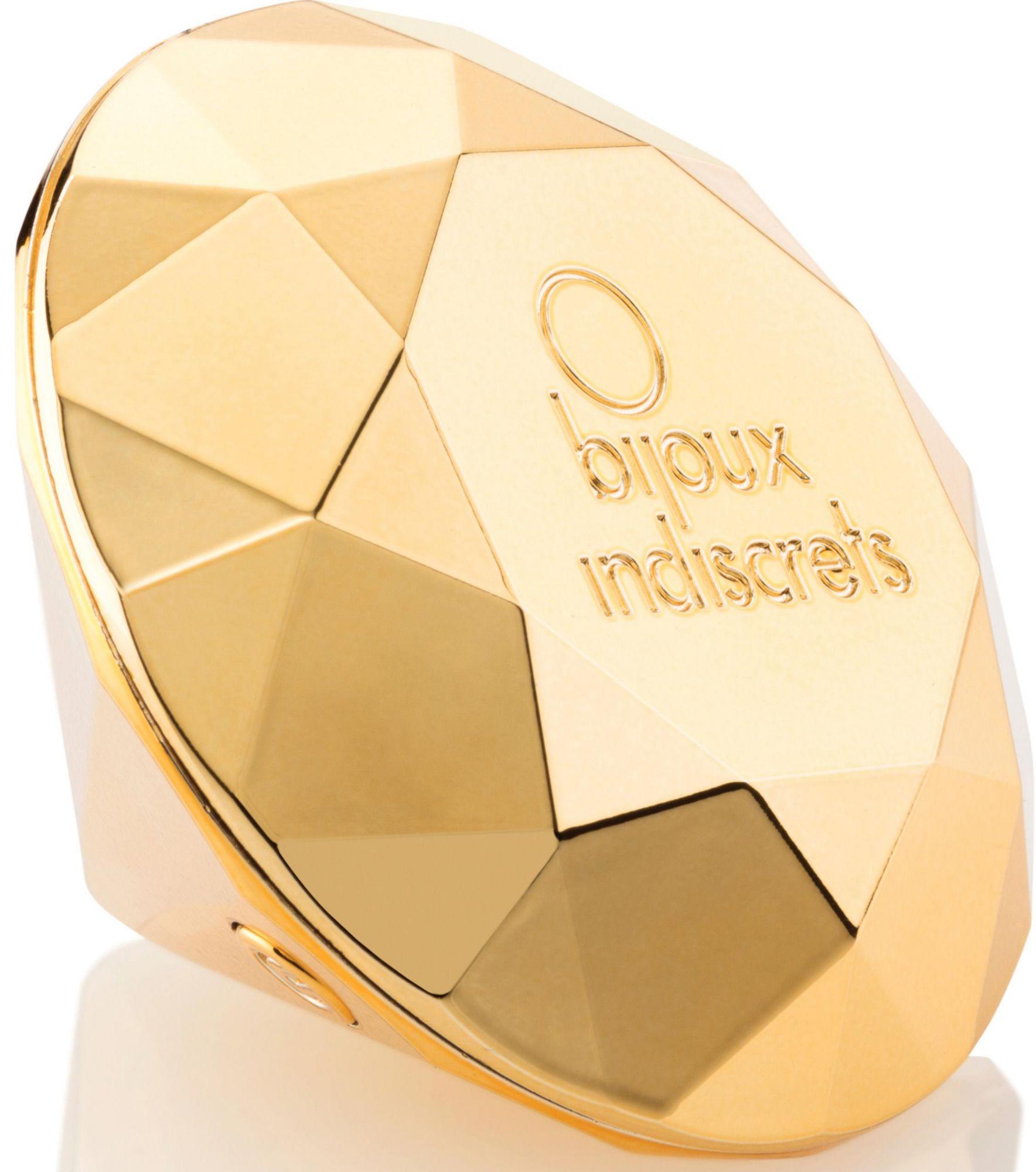 BIJOUX INDISCRETS Bijoux Indiscrets Auflegevibrator im Diamant-Design »Diamond 21«