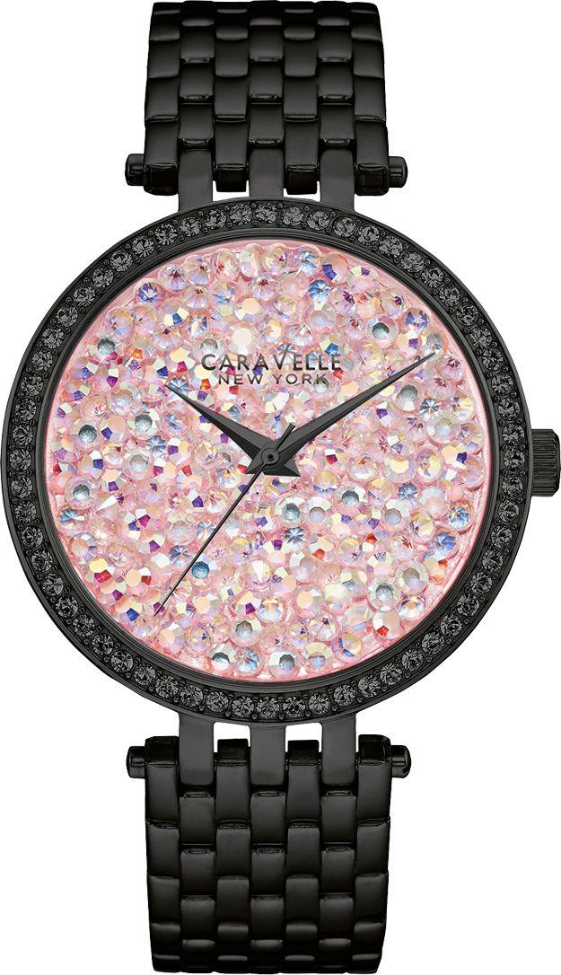 CARAVELLE NEW YORK Caravelle New York Quarzuhr »Crystal Rock, 45L164«