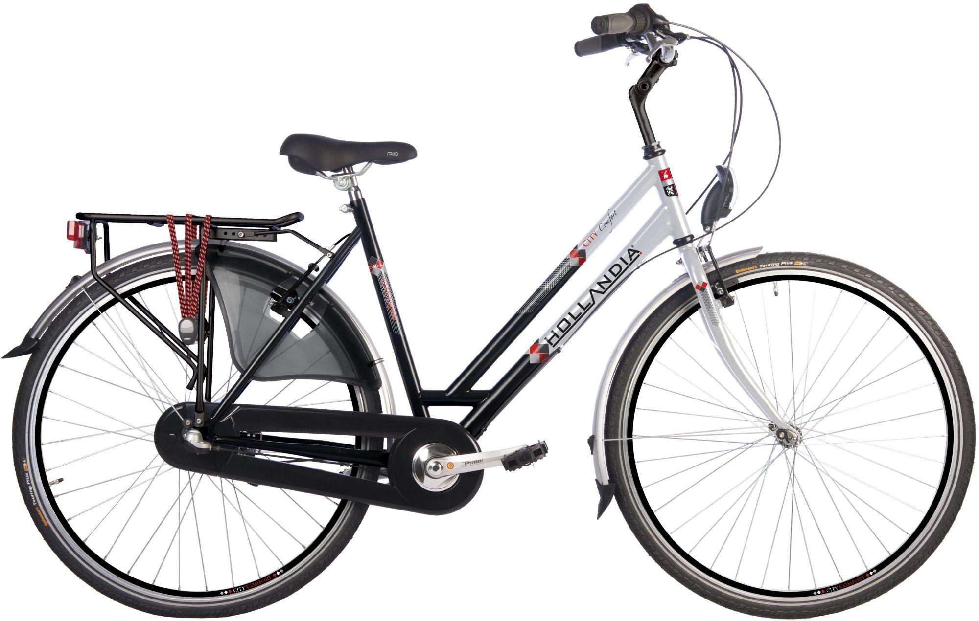 HOLLANDIA Hollandia Damen Citybike, 28 Zoll, 3 Gang Shimano Nabenschaltung, Rücktritt, »City Comfort«
