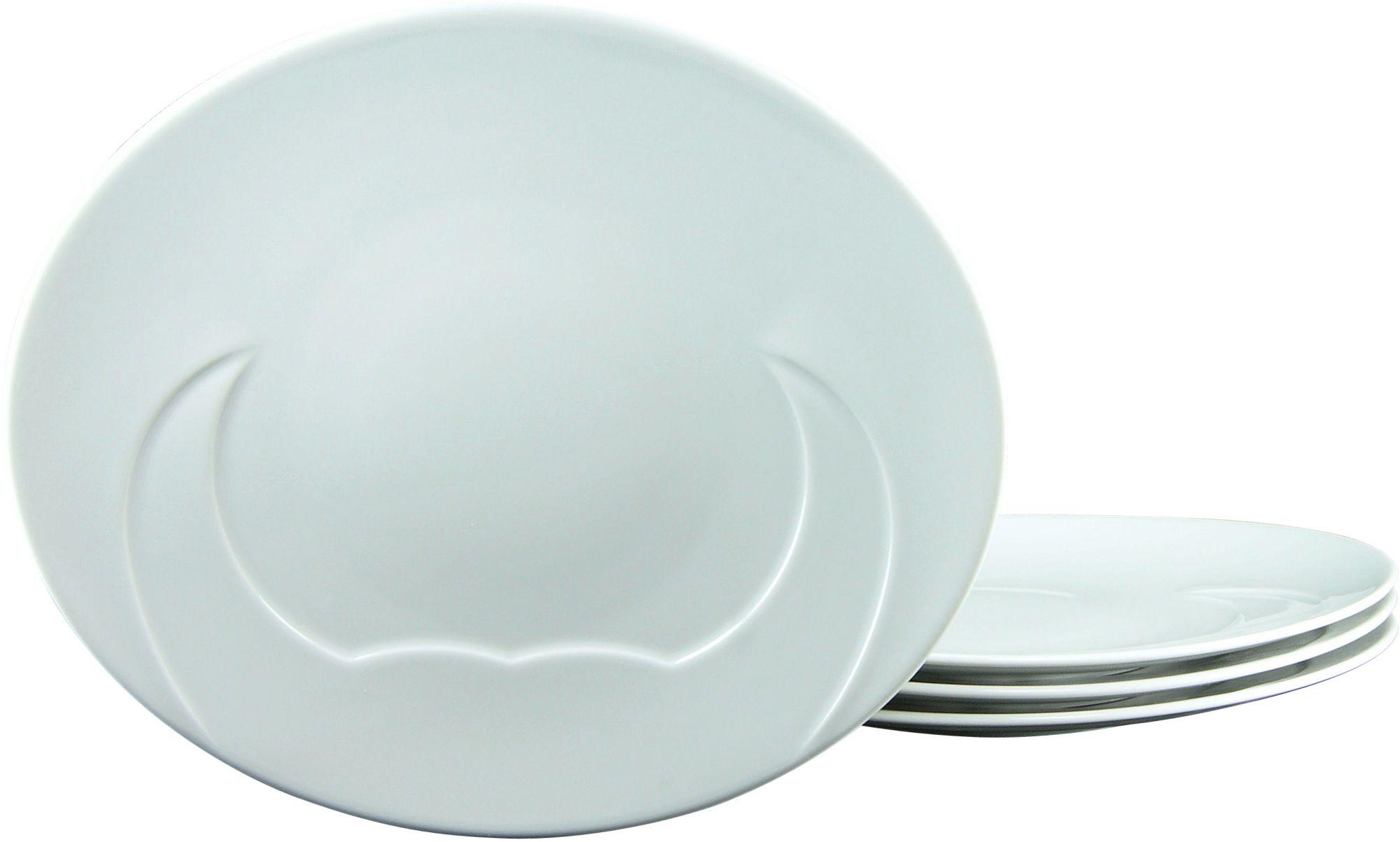 CREATABLE CreaTable Grillteller, Porzellan, 30 cm, »MEAT« (4 Stck.)
