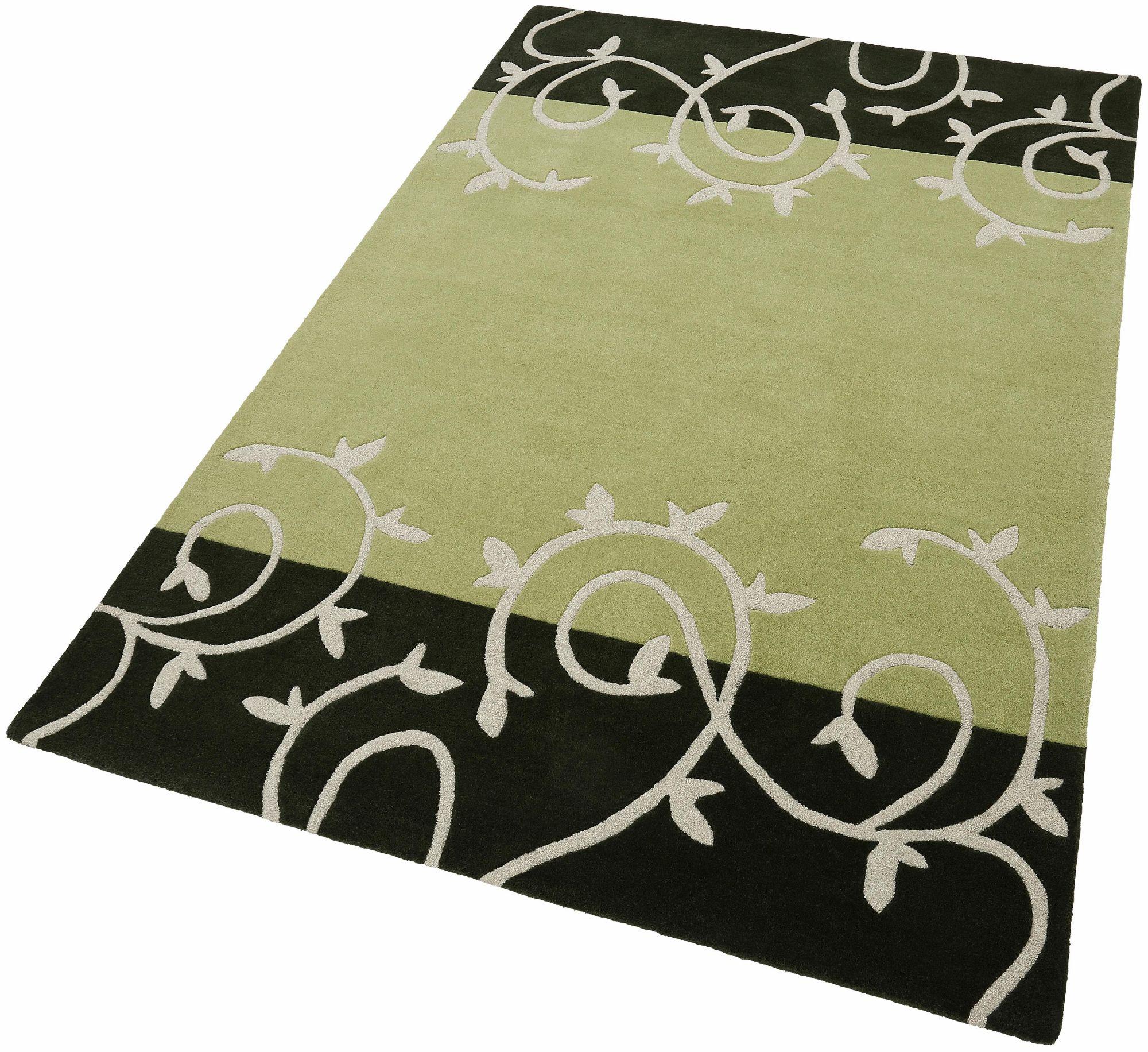 HOME AFFAIRE COLLECTION Teppich, Home Affaire Collection, »Parma«, Hoch-Tief-Effekt, handgetuftet, reine Schurwolle