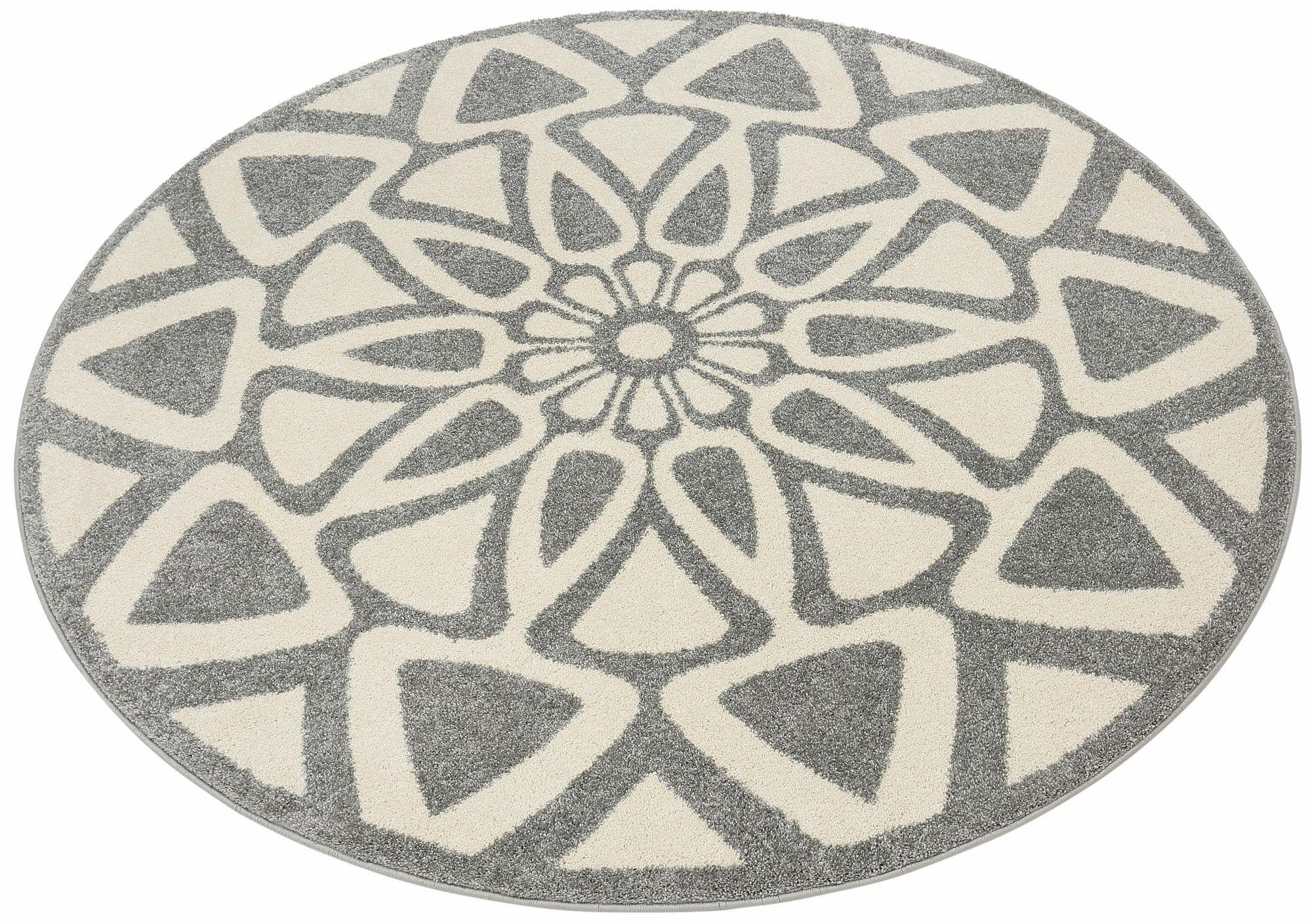 HOME AFFAIRE COLLECTION Teppich, rund, Home affaire Collection, »Talea«, gewebt