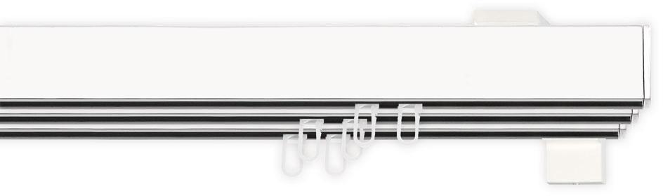 INDEKO Gardinenstange, indeko, »Bern«, 1-, 2- oder 3-läufig nach Maß, mit Innenlauf