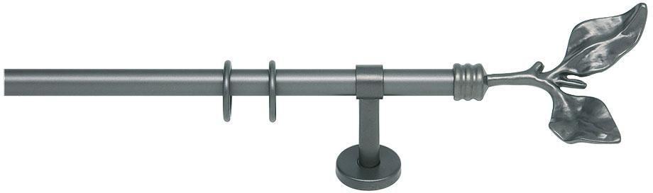 INDEKO Gardinenstange, indeko, »Acanthus«, 1-läufig nach Maß ø 20 mm