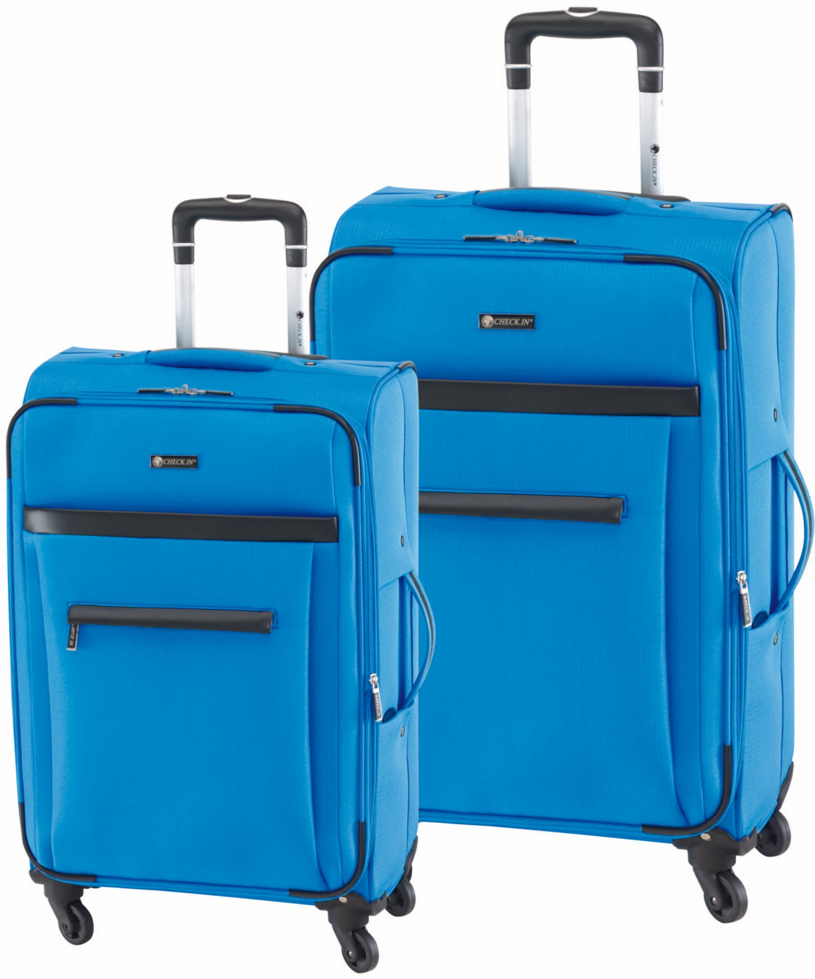 CHECK IN CHECK.IN® Trolley Set mit 4 Rollen, 2tlg., »Nizza«