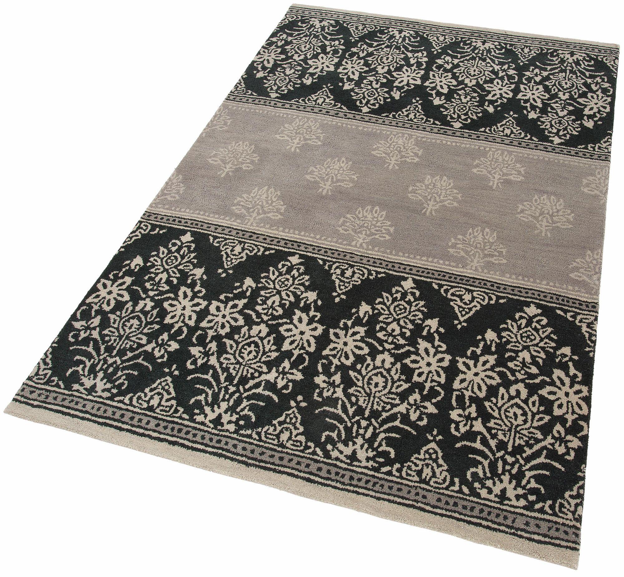 HOME AFFAIRE COLLECTION Teppich, Home affaire Collection, »Allegra«, reine Schurwolle, handgetuftet