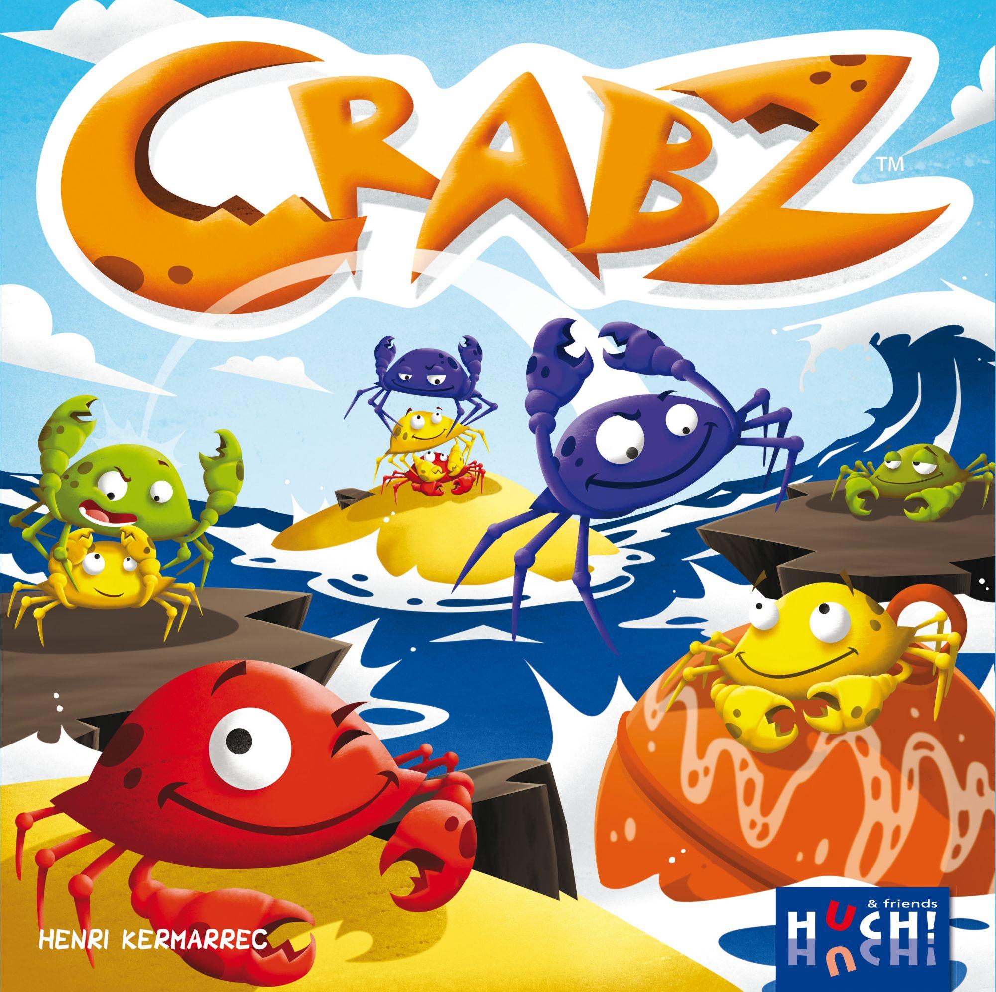 HUCH FRIENDS Huch! & friends Brettspiel, »Crabz«