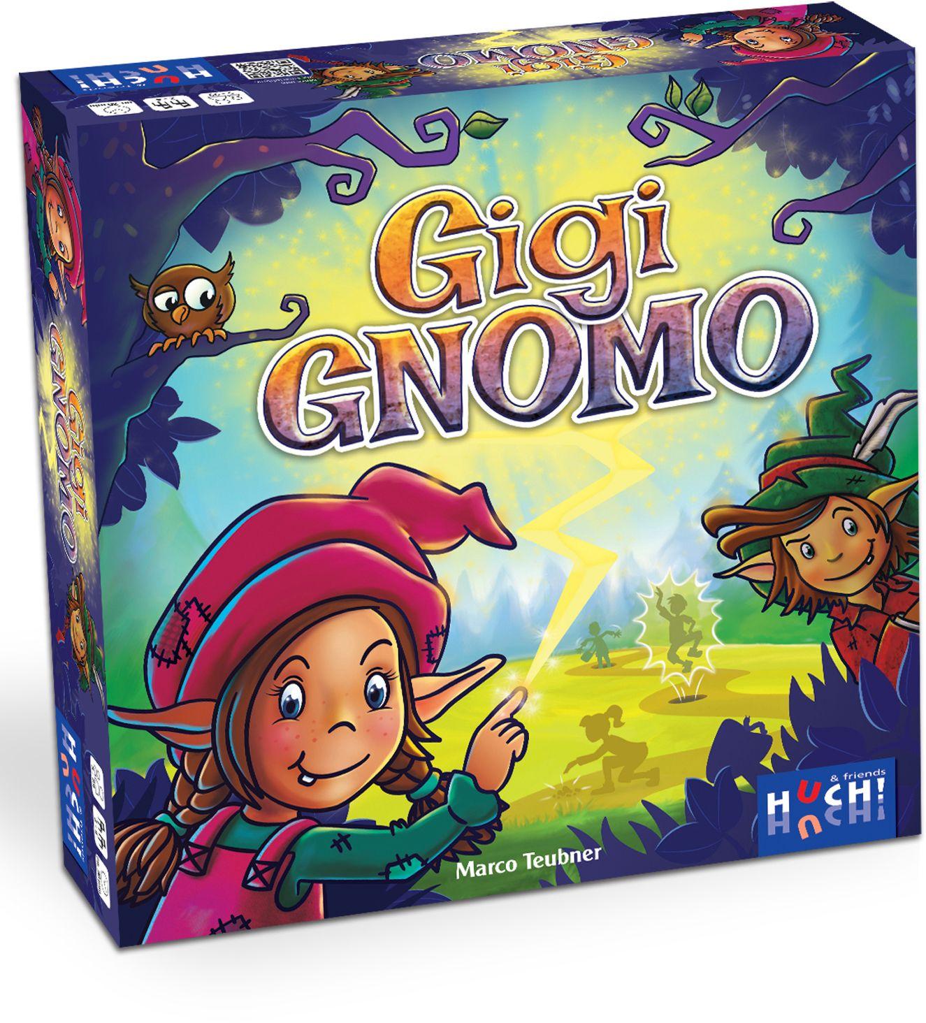HUCH FRIENDS Huch! & friends Brettspiel mit Drehscheibe, »Gigi Gnomo«