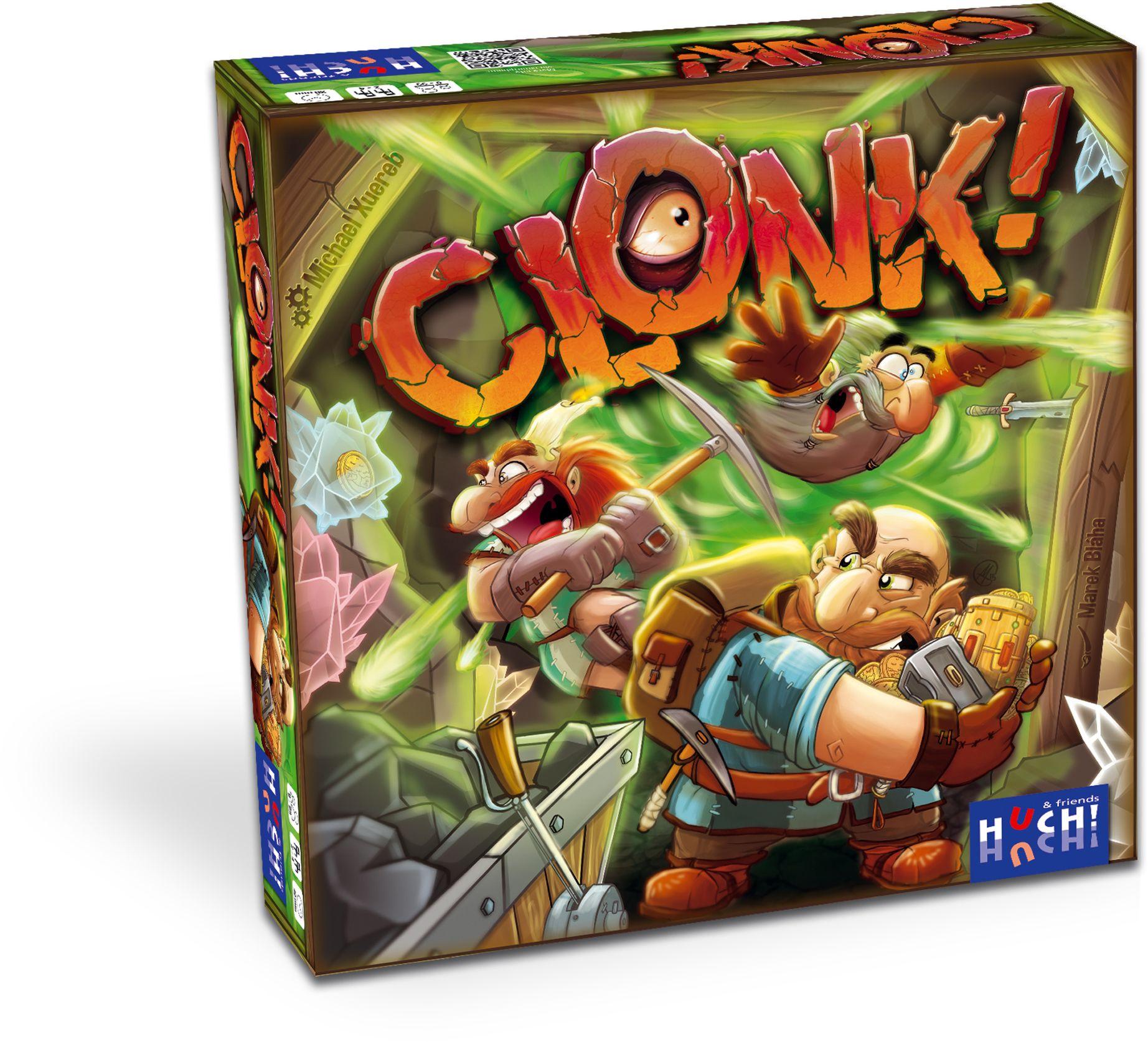 HUCH FRIENDS Huch! & friends Kartenspiel, »Clonk«