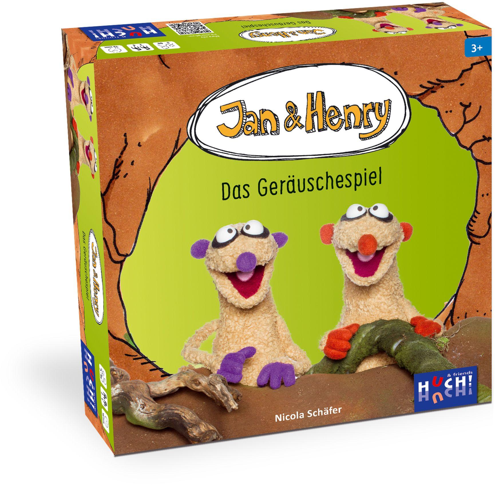 HUCH FRIENDS Huch! & friends Quizspiel, »Jan & Henry Das Geräuschespiel«