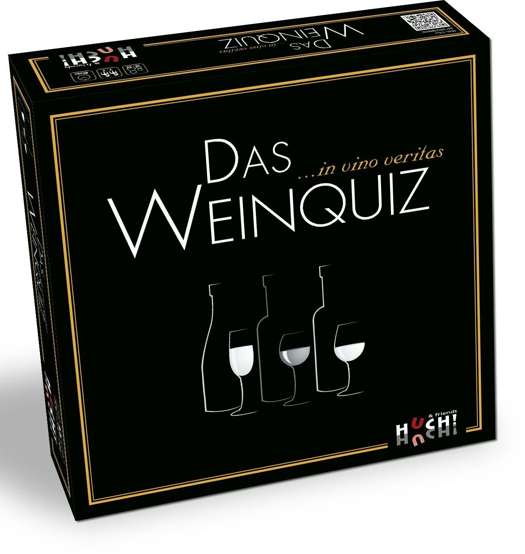 HUCH FRIENDS Huch! & friends Partyspiel, »Das Weinquiz«