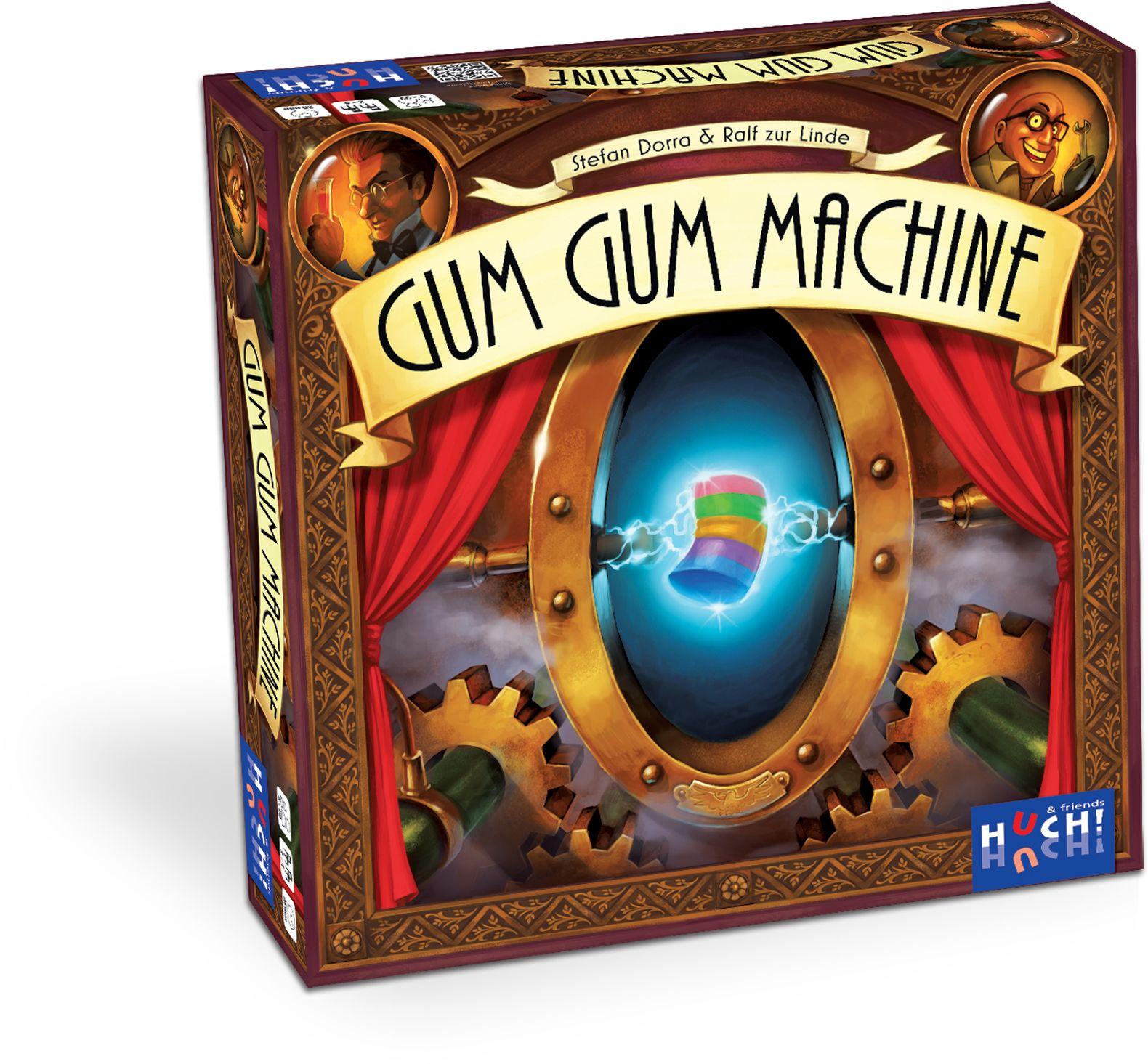 HUCH FRIENDS Huch! & friends Brettspiel, »Gum Gum Machine«