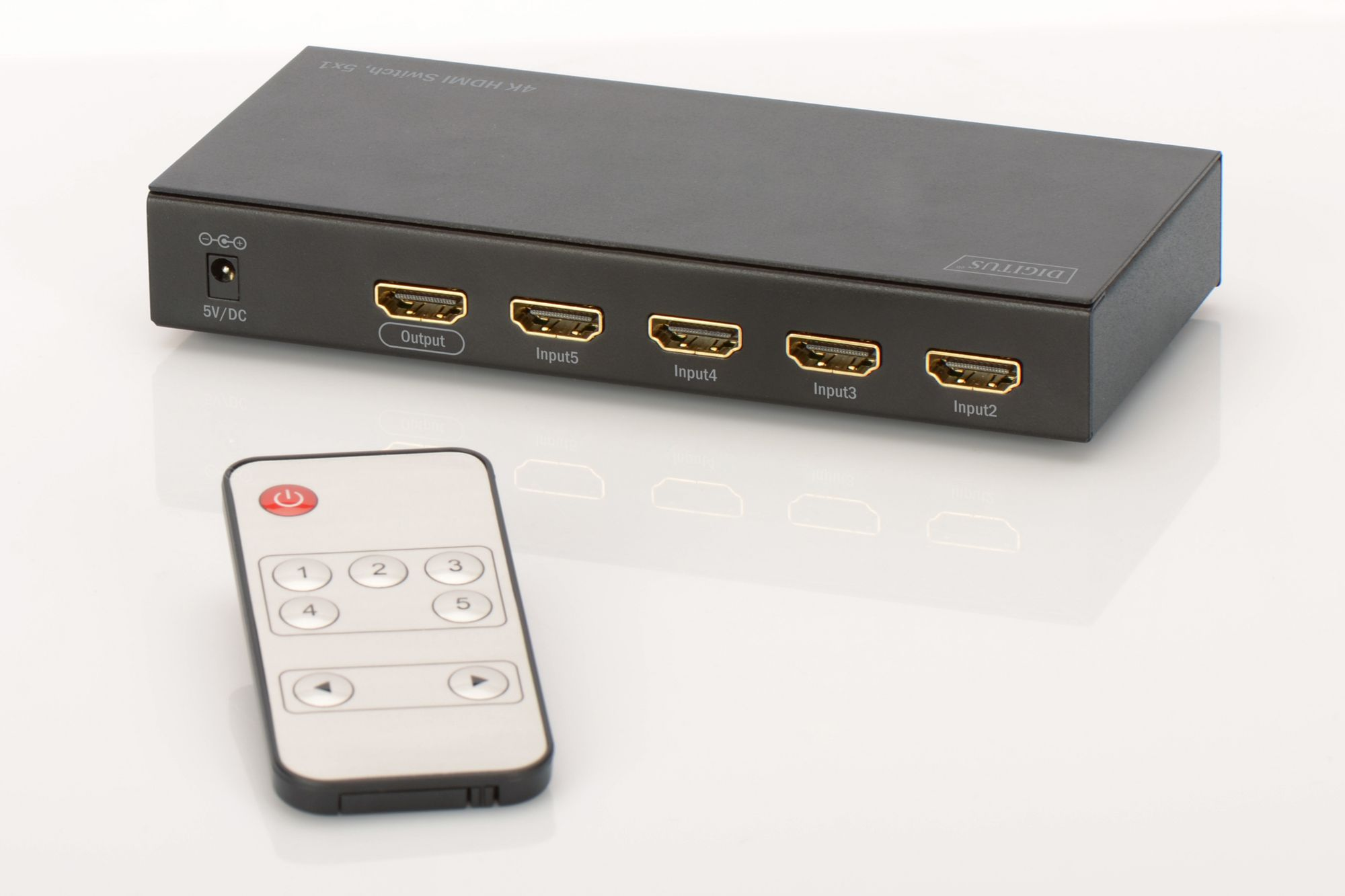 DIGITUS Digitus HDMI Switch »4K HDMI Switch, 5x1«
