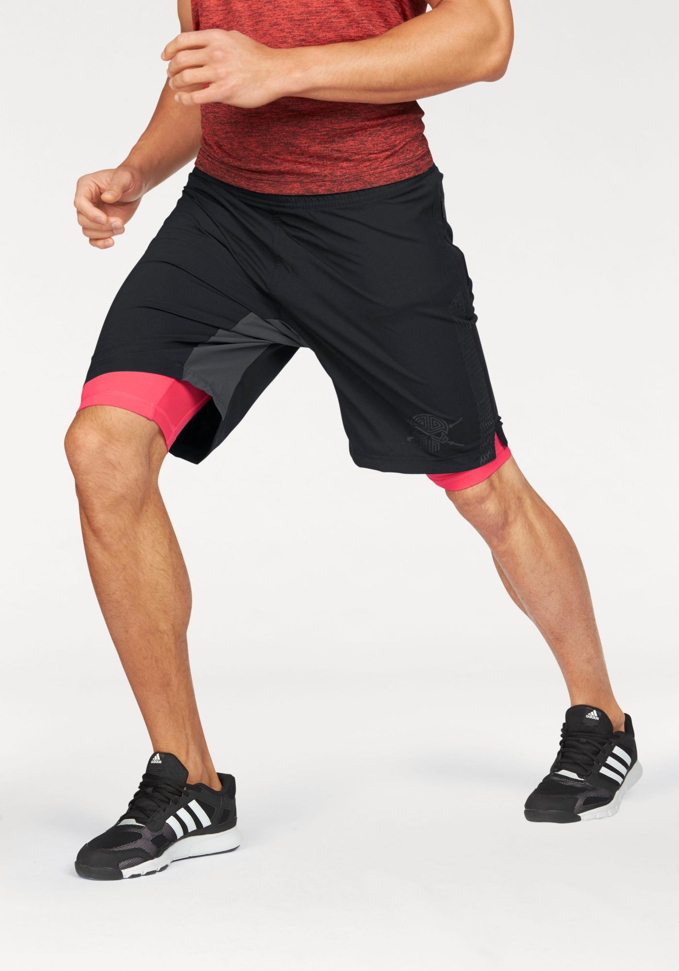 ADIDAS PERFORMANCE adidas Performance 2-in-1-Shorts »ASS 2 GRASS 2IN1«