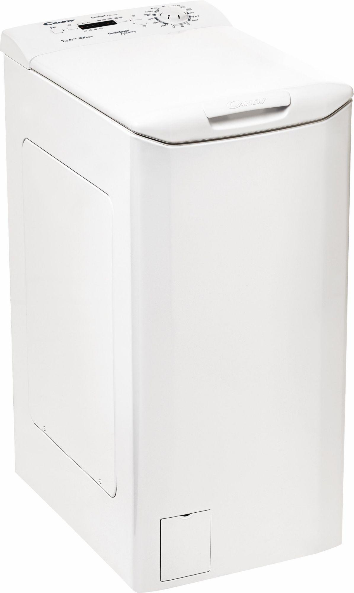 CANDY Candy Waschmaschine Toplader CLTHG370L-S, A+++, 7 kg, 1000 U/Min