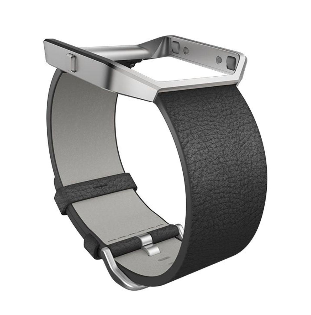 FITBIT fitbit Ersatz-/Wechselarmband »Leder Armband für BLAZE in Größe S«