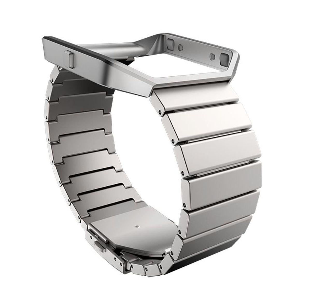 FITBIT fitbit Ersatz-/Wechselarmband »Metal Armband Edelstahl für BLAZE«
