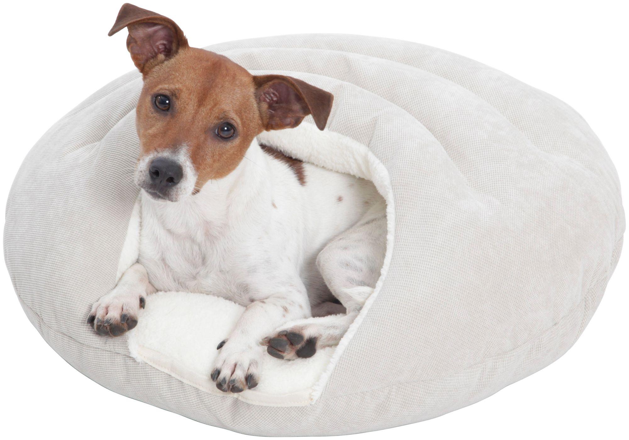 DOGS IN THE CITY Hundehöhle und Katzenhöhle »Bubble«, ØxH: 58x25 cm, Creme