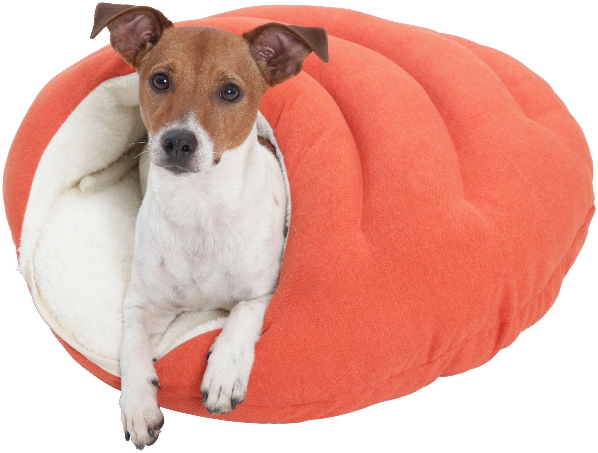 DOGS IN THE CITY Hundehöhle und Katzenhöhle »Bubble«, B/T/H: 58/58/25 cm, Orange