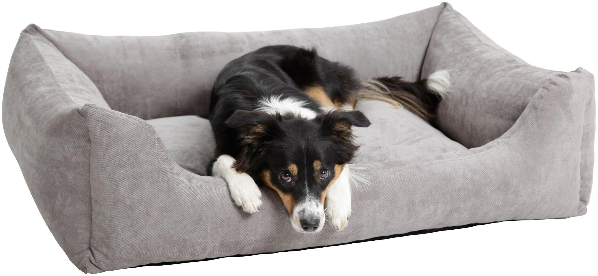 DOGS IN THE CITY Hundebett und Katzenbett »Madison«, B/T/H: 60/40/25 cm, Grau