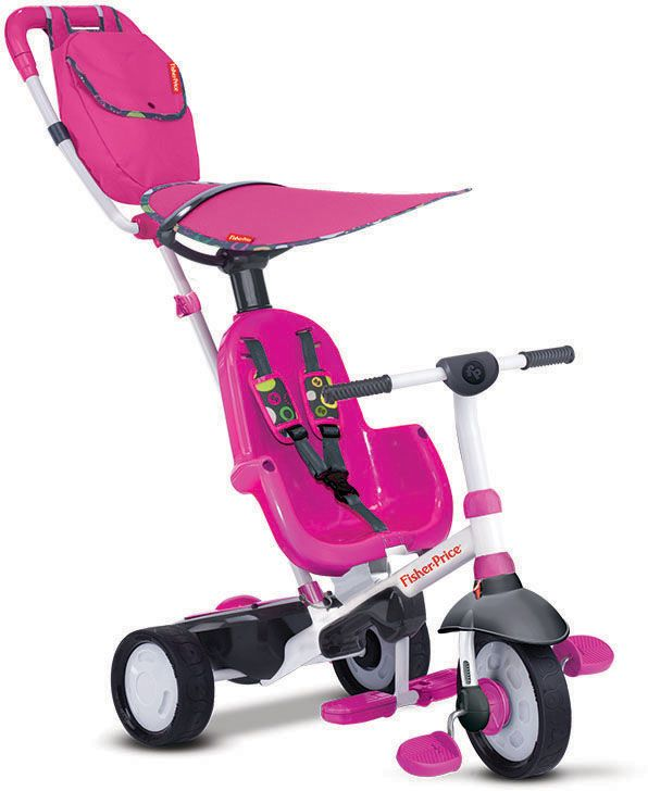 FISHER PRICE Fisher Price Dreirad mit Elternkontrolle, »Baby Trike Charisma pink«