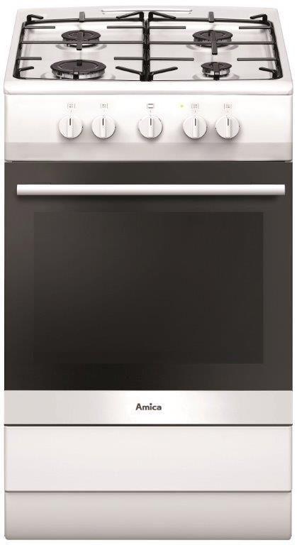 AMICA Amica Gas-Standherd SHGG 11502 W, Energieklasse A, 50 cm  breit
